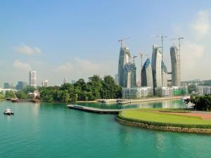 Mit dem Mietwagen durch Singapur
