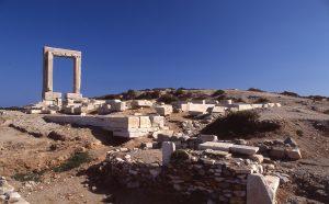 Mietwagen auf Naxos
